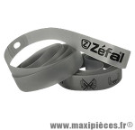 Fond de jante (x2) souple VTT 16mm x 700/28 pouces - Gris - marque Zéfal