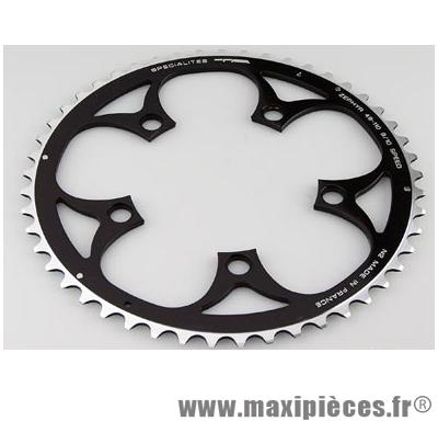 Plateau 46 dents route diamètre 110 extérieur noir zephyr (comp. Shimano) marque Spécialités TA - Matériel pour Vélo