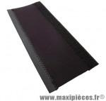 Protège base de vélo en mousse neoprene velcro noir