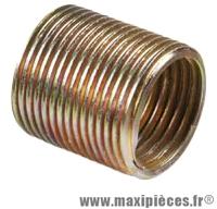 Insert manivelle droit 9/16 (x1) bronze marque Var - Accessoire Vélo