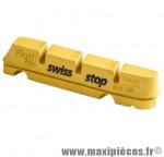 Patin route flash pro yellow king jte carbone adaptable shimano et sram (2 pr) marque SwissStop - Matériel pour Cycle