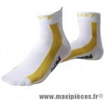 Socquette été coolmax climatic blanche/jaune 44-47 (paire) marque GIST - Casque Vélo pour cycliste