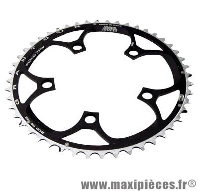 Plateau 48 dents route diamètre 110 extérieur noir (comp. Shimano + campa ultra torque) 10/9v. marque Miche - Pièce Vélo