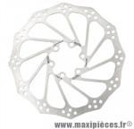 Disque frein VTT 6 trous d160 mm polygon marque Avid - Accessoire Vélo