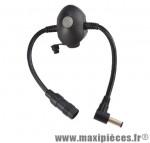 Adaptateur chargeur batterie nipack marque Sigma - Accessoire Vélo