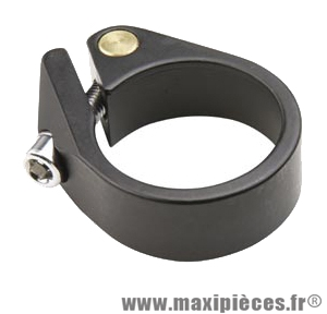 Collier tige de selle route d31.8 mm noir alu d31.8 mm serrage chc - Accessoire Vélo Pas Cher
