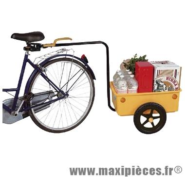 Remorque éco trailer maxi (l58xl39xht30) - Accessoire Vélo Pas Cher