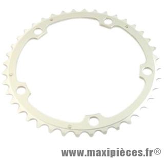 Plateau 34 dents route diamètre 110 intérieur noir ct2 téflon ceramic 11/10v. marque Stronglight - Pièce Vélo