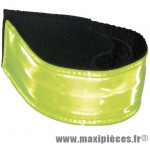 Brassard sécurité réfléchissant lumineux (avec leds) jaune fluo - Accessoire Vélo Pas Cher