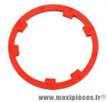 Entretoise adaptable shimano 10v. (rouge) marque Miche - Pièce Vélo
