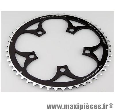 Plateau 42 dents route diamètre 110 interm noir zephyr (comp. Shimano) marque Spécialités TA - Matériel pour Vélo