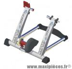 Home trainer mistral gris magnétique avec cable réglage dureté marque Roto - Accessoire Vélo