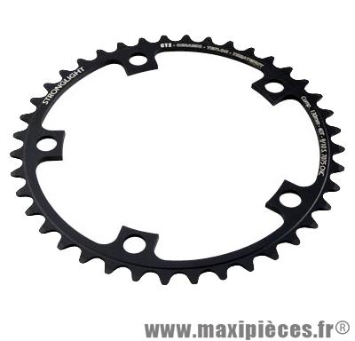 Plateau 40 dents route diamètre 130 intérieur noir ct2 téflon ceramic 11/10v. marque Stronglight - Pièce Vélo