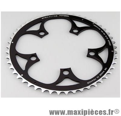 Plateau 51 dents route diamètre 110 extérieur noir zephyr (comp. Shimano) marque Spécialités TA - Matériel pour Vélo