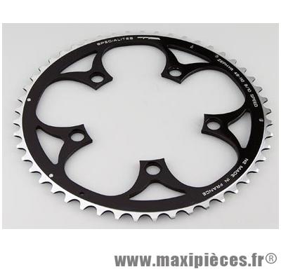 Plateau 40 dents route diamètre 110 intérieur noir zephyr (comp. Shimano) marque Spécialités TA - Matériel pour Vélo