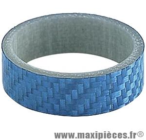 Entretoise ahead-set 1 pouce 1/8 1omm bleu 28.6 mm ext. marque Atoo - Matériel pour Vélo