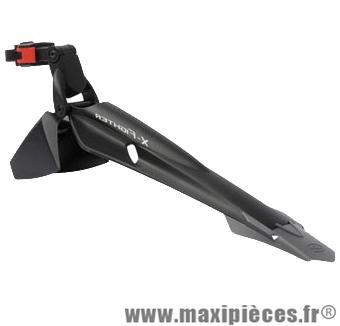 Garde boue VTT arrière 24/26/27.5/29 pouces xfighter noir fixation tige de selle marque Polisport - Pièce Vélo