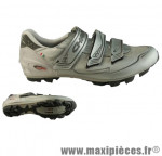 Chaussure VTT chain stream argent t39 (paire) - Accessoire Vélo Pas Cher pour cycliste
