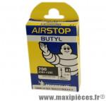 Chambre à air de route 700x18/25 vp a1 valve 52mm marque Michelin - Pièce Vélo