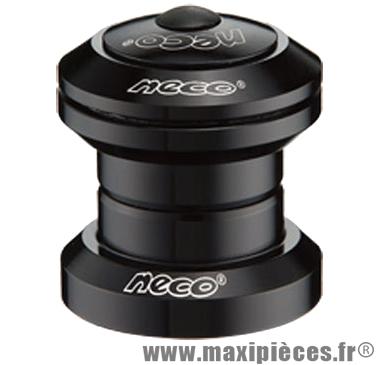 Jeu direction vélo ahead-set 1 pouce 1/8 cartouche 41.8x45°x45° alu noir marque Atoo - Matériel pour Vélo