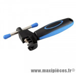Déstockage ! Dérive-chaine vélo 8/9/10 vit. M-Wave antidérapant bleu
