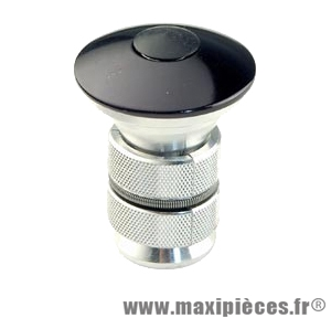 Bouchon potence ahead-set 1 pouce+1 pouce 1/8 noir (diamètre inter. 20.0) marque Atoo - Matériel pour Vélo