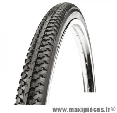 Pneu pour vélo tradi 650x35a noir (26x1 3/8 - 37-590) marque Deli Tire