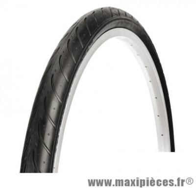 Pneu de VTT 26x1.50 slick noir (40-559) marque Deli Tire