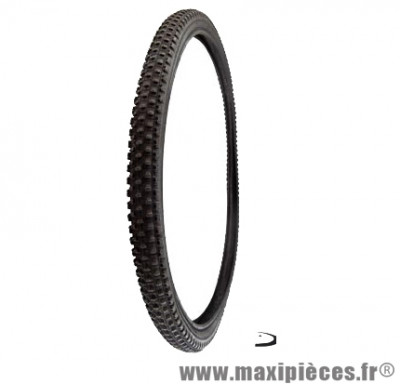 Pneu de VTT 26x1.90 grip noir (50-559) marque Deli Tire