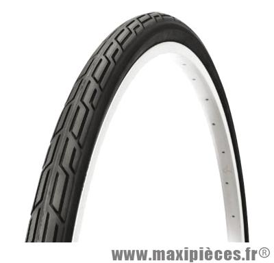 Pneu de vélo pour VTC 700x32 city noir (32-622) marque Deli Tire