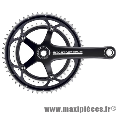 Pédalier route double 53-39d l172.5 véloce ultra-torque noir 10v marque Campagnolo - Pièce Vélo