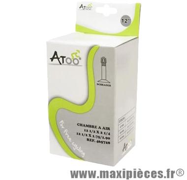 Chambre à air de tradi 12 1/2x1.75 vs marque Atoo - Matériel pour Vélo