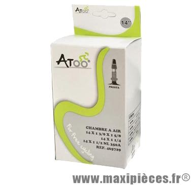 Chambre à air de tradi 350a (14 pouces) vp marque Atoo - Matériel pour Vélo