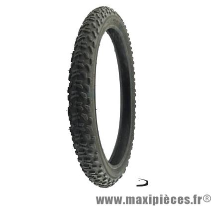 Pneu de VTT 20x1.75 noir (47-406) marque Deli Tire