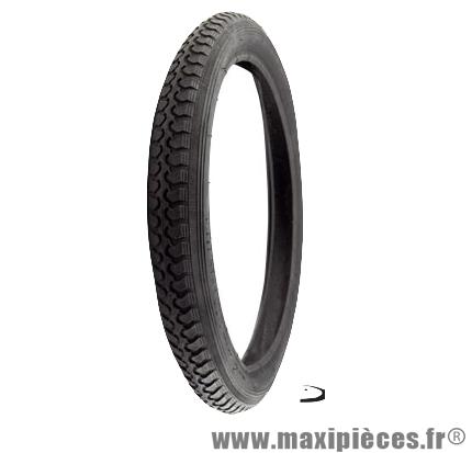 Pneu de VTT 16x1.75 noir slick (47-305) marque Deli Tire