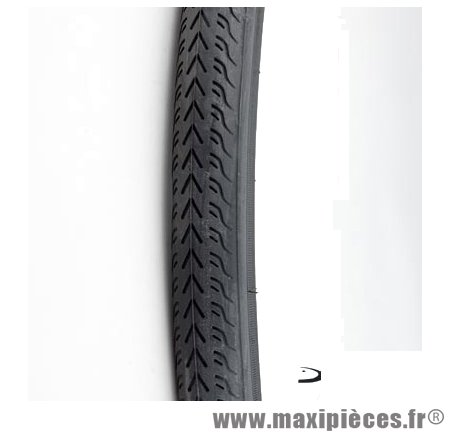 Pneu pour vélo de route 700x28 noir (28-622) marque Deli Tire