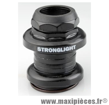 Jeu de direction externe fileté Stronglight A9 1 EC27/25,4 acier noir route/ville