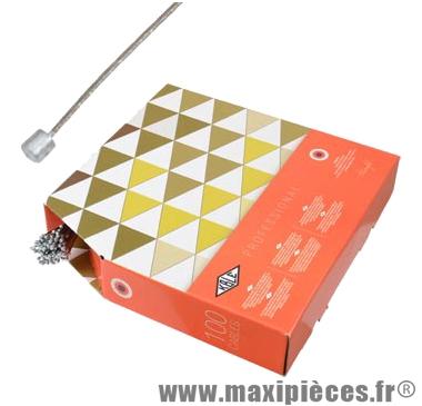 Cable dérailleur inox type Campa 1.90m (vendu par boite de 100) kble/t marque KBLE - Pièce Vélo