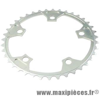 Plateau 39 dents route diamètre 110 intérieur argent nerius (spec.campa) marque Spécialités TA - Matériel pour Vélo