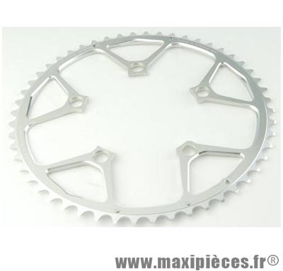 Plateau 34 dents route diamètre 110 intérieur argent nerius (spec.campa) marque Spécialités TA - Matériel pour Vélo