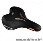 Selle loisir look'in moderate gel femme noir marque Selle Royal - Pièce Vélo