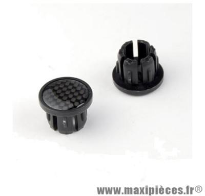 Bouchon cintre VTT carbone a emboiter (paire) - Accessoire Vélo Pas Cher