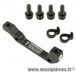 Adaptateur frein disque is/pm avant 180 mm (international standard vers postmount) - Accessoire Vélo Pas Cher