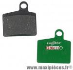 Plaquette de frein VTT adaptable hayes stroker ryde (paire) organique marque SwissStop - Matériel pour Cycle