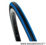 Pneu pour vélo de route 700x23 tr equinox noir/bleu (23-622) marque Hutchinson
