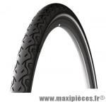 Pneu pour vélo tradi 26x1.40 city protek tr noir flanc réfléchissant (37-559) marque Michelin - Pièce Vélo