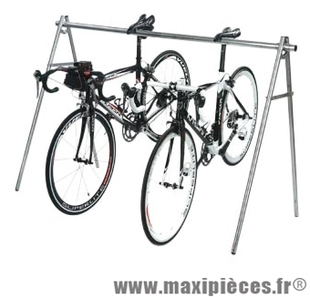 Support vélo pliable extérieur fixation par la selle - Accessoire Vélo Pas Cher