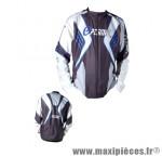 Blouson texas antiwind light hiver noir/blanc/bleu s - Accessoire Vélo Pas Cher