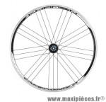 Roue route 700 (paire) khamsin noir 11/10/9v. a pneu marque Campagnolo - Pièce Vélo