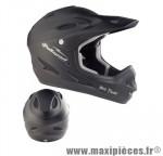Casque BMX intégral thunder noir (57/61) marque Polisport - Pièce Vélo